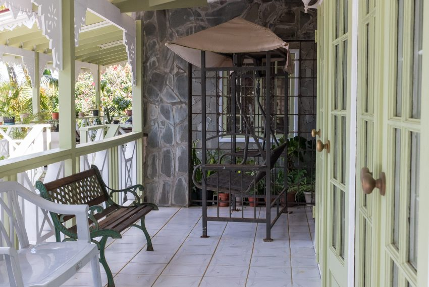 Balcony by Dining Room