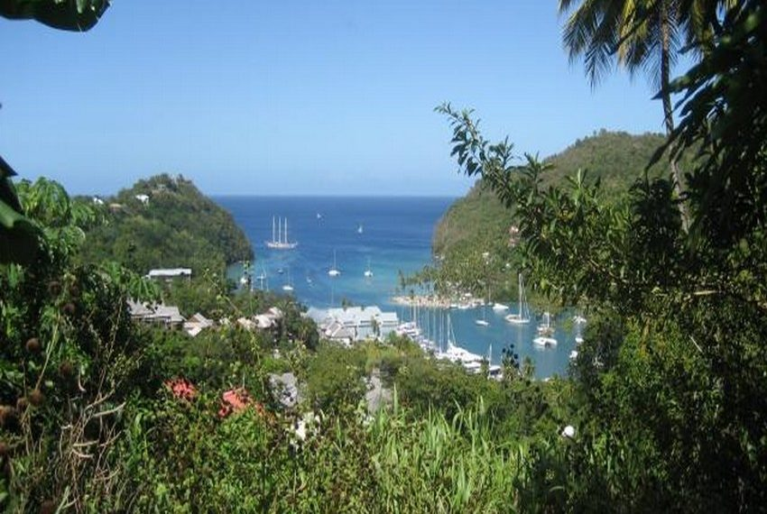 Marigot Bay view