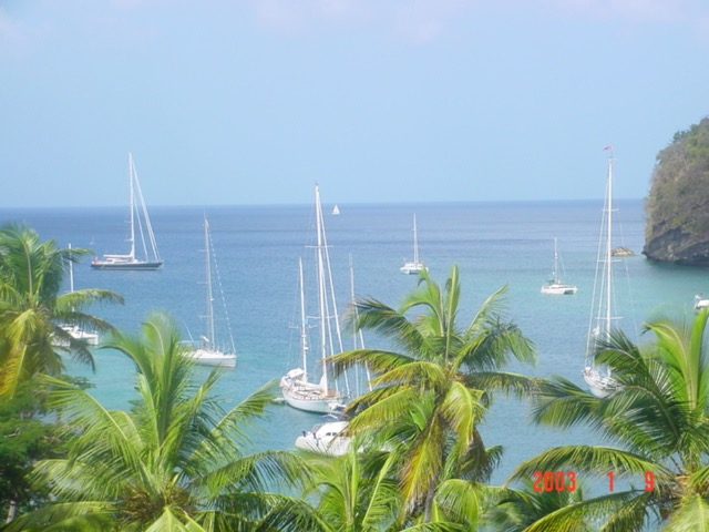 Marigot View from land C
