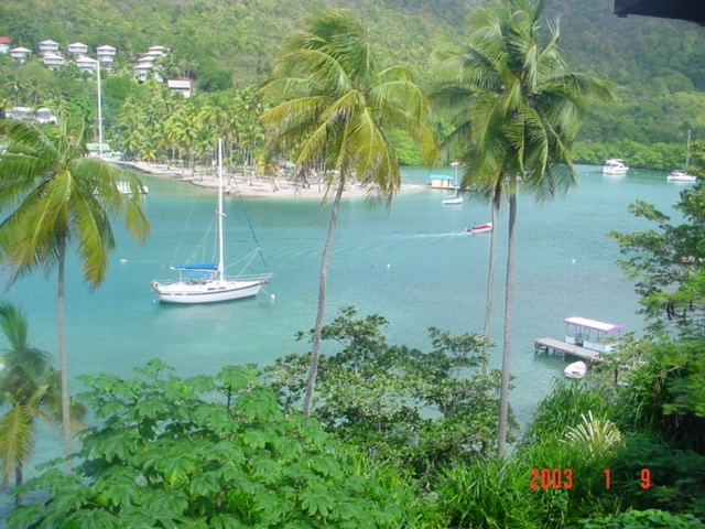 Marigot View from land E