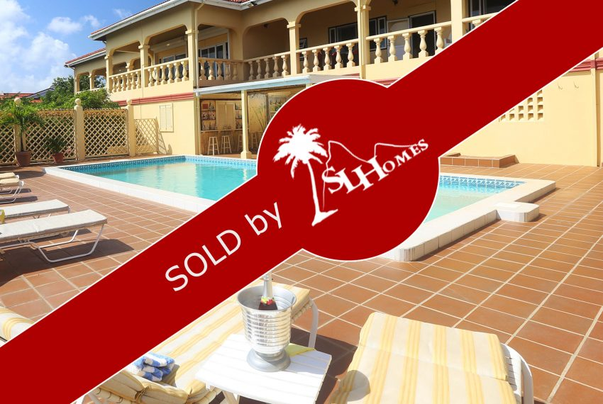 SOLD By St Lucia Homes - Ocean View Villa