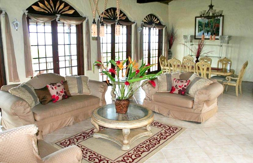 St-Lucia-Homes---Chateau-Devaux---Living-room-2
