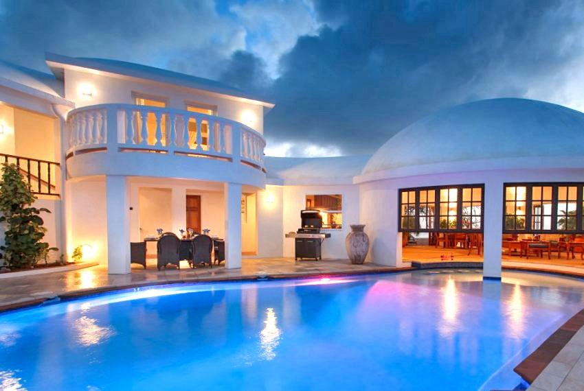 villa hillside pool-3