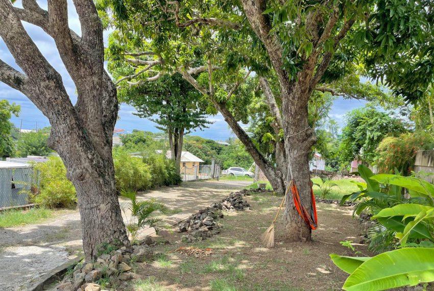 St-Lucia-homes---CAS040-Villa-Massade--Yard