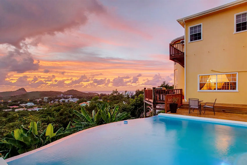 St-Lucia-homes---Villa-Chloesa---Homepool